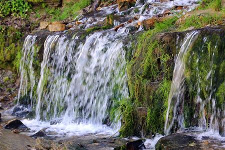 Water flow in the brook