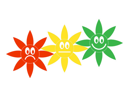 Symbolic image of the moods