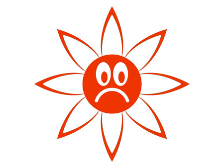 Symbolic image of the bad mood