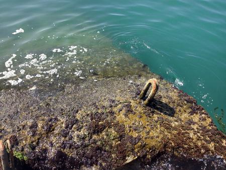 lug: Breakwater and sea water
