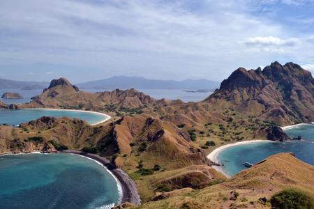 Padar Island, Indonesia Stock Photo