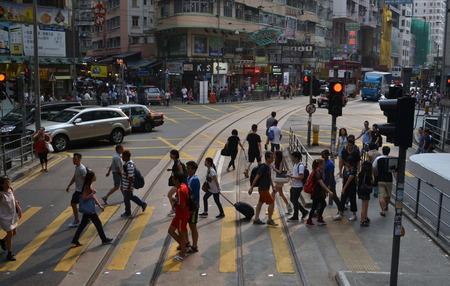 Busy Life in Hong Kong