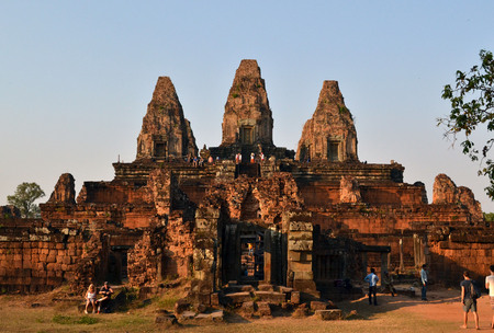 Another temple in Angkor Wat complex, Siem Reap, Cambodia