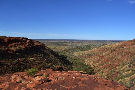 Kings Canyon (Wattarka National Park). Not far from Uluru, Australia
