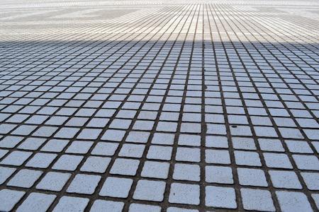 else: The tiled-floor in Taipei, Taiwan. Nothing else.