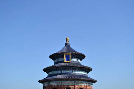Closer to Temple of Heaven, Beijing. Pic was taken in September 2017. Translation: Temple of Heaven