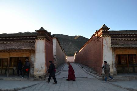 The life around Labrang in Xiahe, Amdo Tibet, China. Pilgrims are everywhere, circumabulating the monastery. Pic was taken in September 2017.