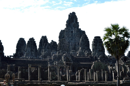 The view around Bayon Temple complex, - Angkor Wat. Can you see faces are everywhere? Pic was taken in January 2015