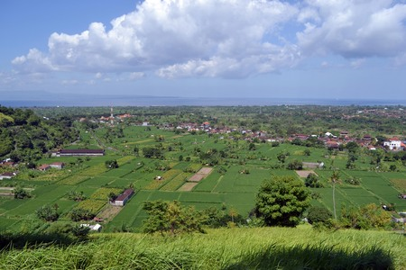 The wonderful view of Karangasem Regency in Bali, Indonesia. Pic was taken in June 2017.