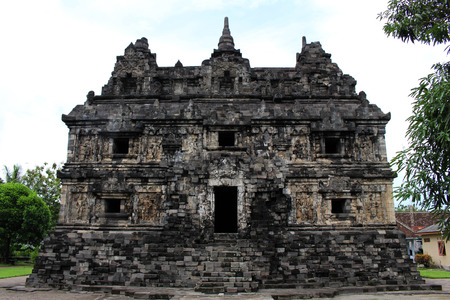 Jogjakarta in Indonesia has dozens temples (beside the popular Borobudur and Prambanan). This one is Candi Sari Temple. Pic was taken in November, 2017.