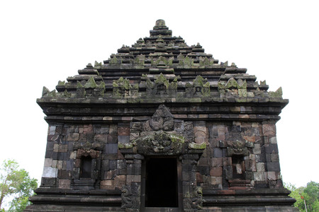 Jogjakarta in Indonesia has dozens temples (beside the popular Borobudur and Prambanan). This one is Candi Ijo Temple. Pic was taken in November, 2017. Editorial