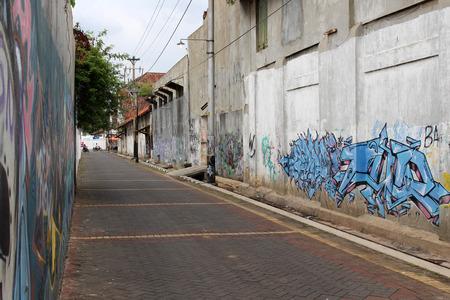 The area around Kota Lama (Old Town), Semarang, Indonesia. Pic was taken in January 2018.