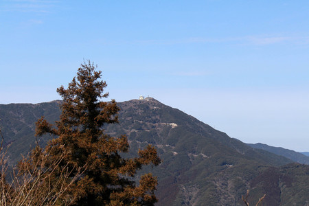 The view of nature from Onechi Shrine and the top of the hill. Taken in Iizuka,