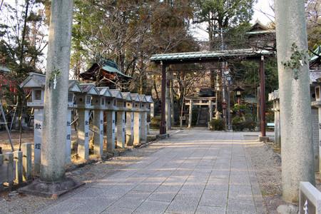 Translation: The gate of Shinto Shrine in Inuyama, Japan. Taken in February 2018.