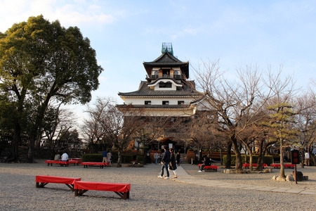 Around Inuyama Castle in Aichi Prefecture. Located by the Kiso River and also the original one. Pic was taken in February 2018.