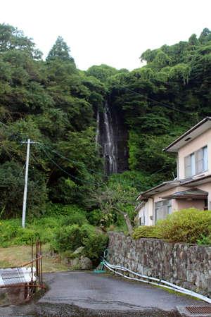 Shiraito fall, waterfall around the hotspring area of Beppu. Taken in June 2019 Redakční
