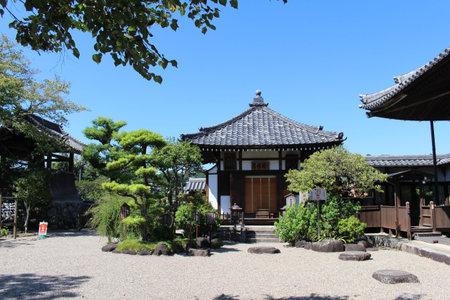 Small buildings of Asukadera Temple in Asuka Editorial