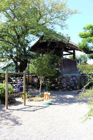 Tower of Asukadera Temple in Asuka. Taken in September 2019. Editorial