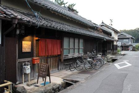 Hostel or guestouse in Asuka, Nara, Japan. Taken in September 2019.