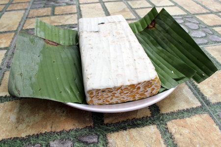 Indonesian tempe or tempeh, an alternative healthy vegan food.