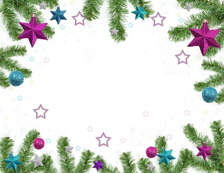 Christmas background Stock Photo - 8340192