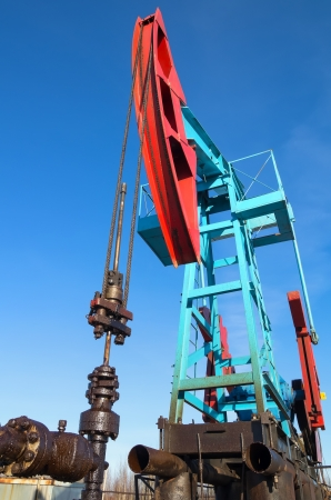 Oil pump  Extraction of minerals by means of the oil pump is rocking