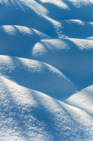 Background from snow drifts photo