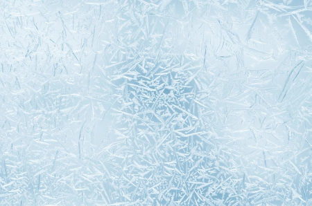 Abstract frosty pattern on glass. Stock Photo - 16760639
