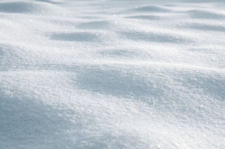 Winter background of shiny snow Stock Photo - 17251842