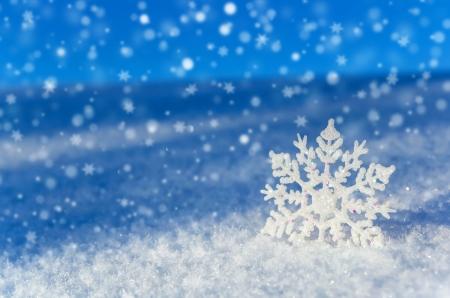 Festive winter background Stock Photo
