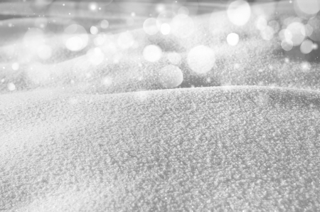 snow flakes: Winter background of shiny snow