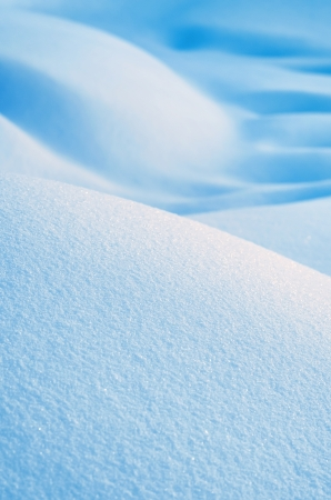 Background from snow drifts Stock Photo