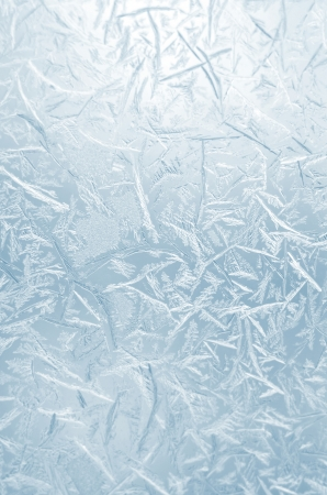 Abstract frosty pattern on glass. Stock Photo - 24941854