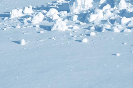 snowballs: Winter snow background with snowballs