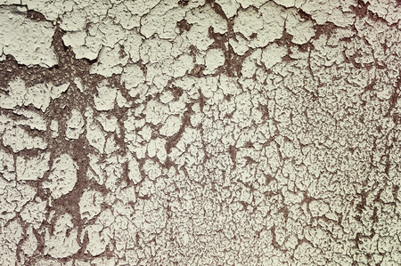 plies: Background of a wall fragment with cracked paint