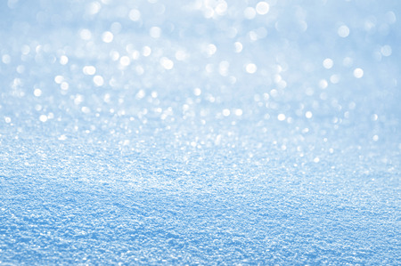 design background: Winter bright background shiny snow for design