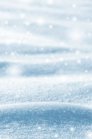 snowdrifts: Winter background with snowdrifts and brilliant snow