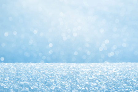 shiny background: Winter bright background from fluffy brilliant snow