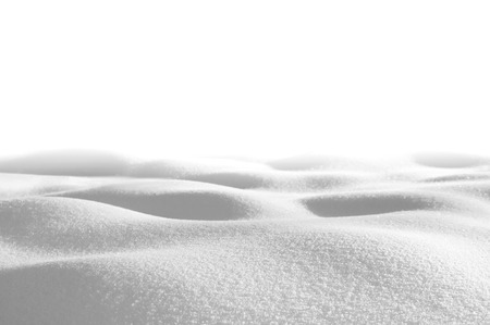 drifts: Snow drifts isolated on white background in shades of gray
