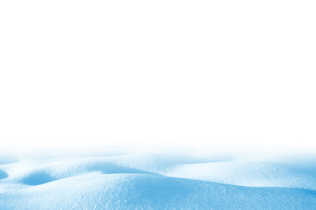 snowdrift: Snowdrift isolated on white background for design