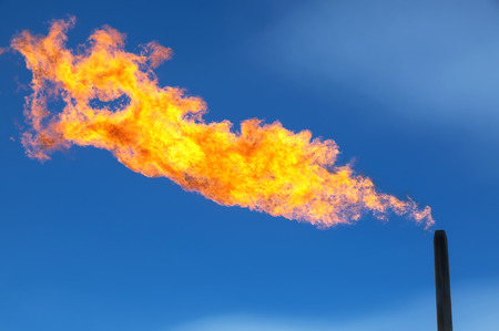 evaporacion: Gas flaring. Combustion of associated gas at oil production.