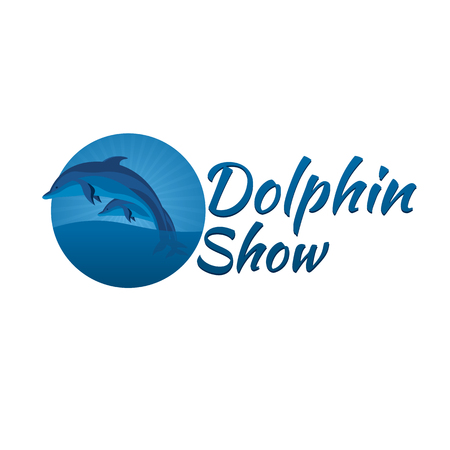dolphinarium: Dolphinarium. Illustration