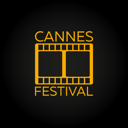 feature films: Cannes Festival. Laurel. Film Awards Winners. Film awards . Cinema. Vector illustration. Illustration