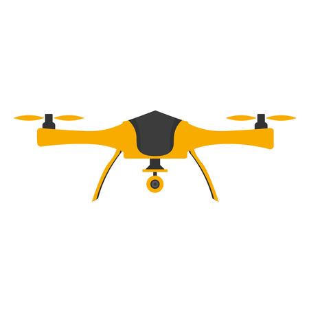 Herék az akció kamera. Lapos design. drone quadrocopter