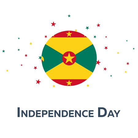 Independence day of Grenada. Patriotic Banner. Vector illustration