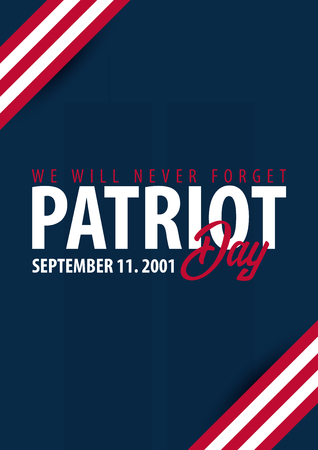 world trade center: Patriot day background. September 11. We will never forget