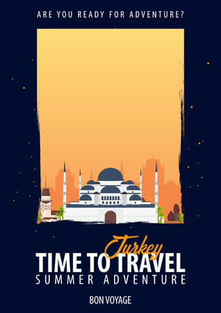 トルコ。時間旅行。旅、旅行、あなたのボンヴォヤージュの冒険の休暇