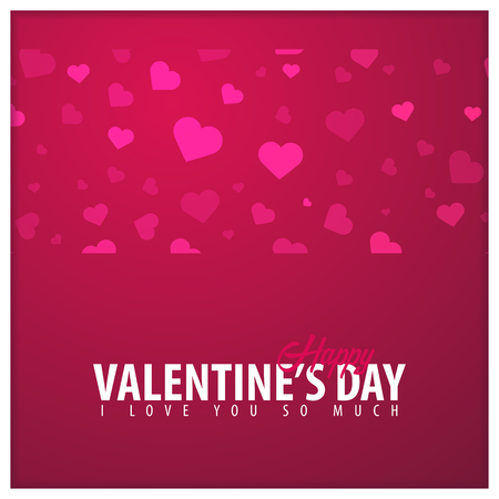 Valentines day sale background. Wallpaper, flyers, invitation, posters, brochure voucher banners Vector illustration