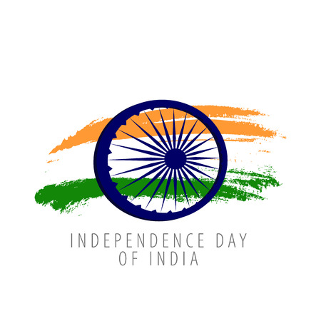 Independence Day of India. 15th August. Vector illustration Illustration
