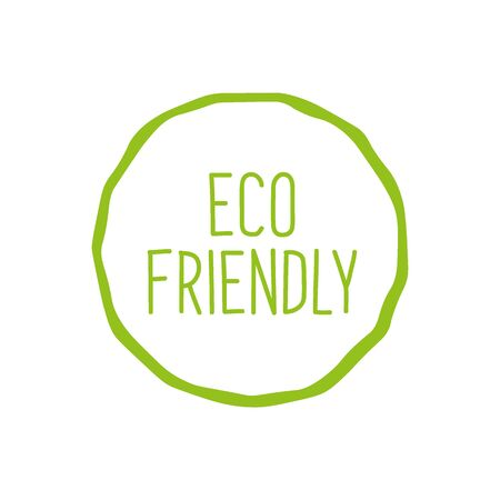 Bio, Eco and Natural product emblem. Do Green and Eco friendly.